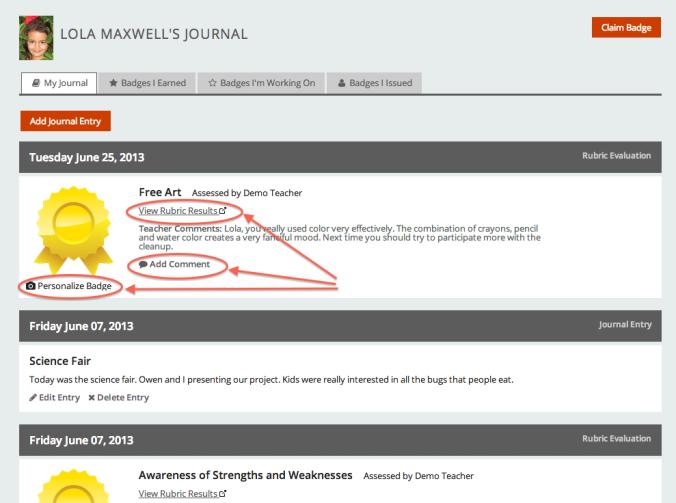 Journal - Student Activities
