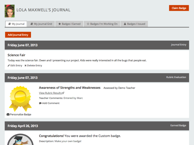 Student Journal 1